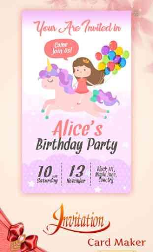 Digital Invitation Card Maker image 4