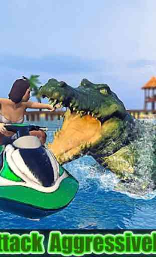 simulateur de crocodiles 2019: attaque de plages 1