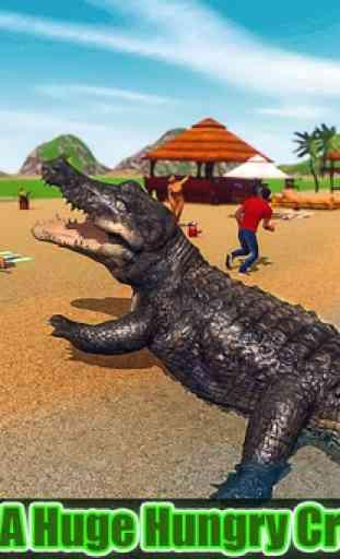 simulateur de crocodiles 2019: attaque de plages 2