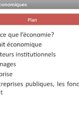 Economie Générale - Sciences économiques (Cours) 1