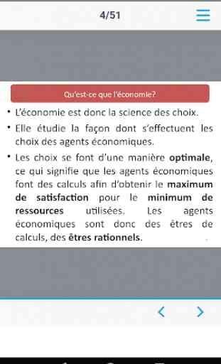 Economie Générale - Sciences économiques (Cours) 3