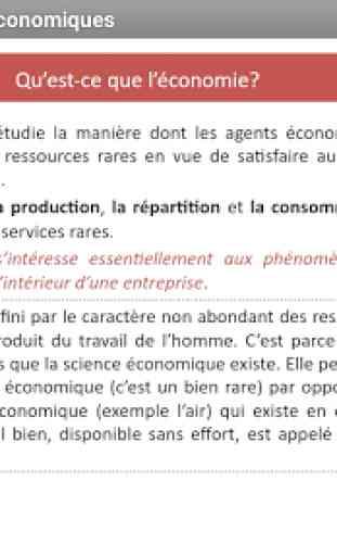 Economie Générale - Sciences économiques (Cours) 4