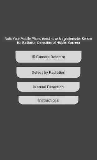 IR Hidden Camera Detector image 1
