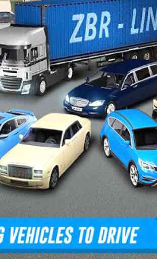 Shopping Mall Car & Truck Parking 2