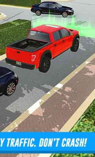 Shopping Mall Car & Truck Parking 3