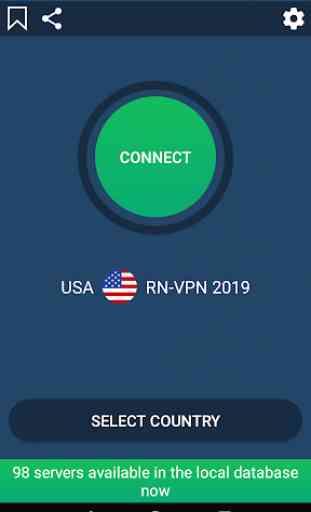 Super VPN 2019 Free - USA VPN Master 3