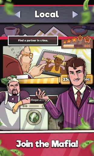Idle Mafia Inc. - Noire Mob Godfather Clicker Game 1