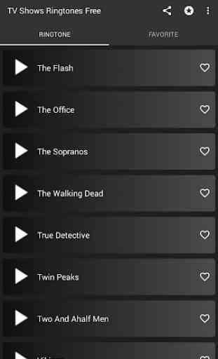 TV Series ringtones - Theme songs 2