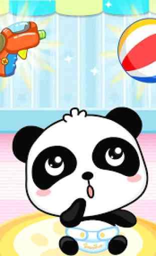 Bébé Panda Babysitter - Éveil 3