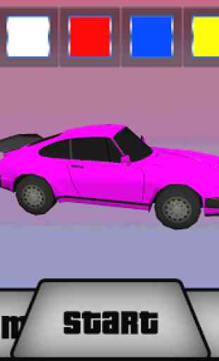 fille  voiture  Parking 3D 4