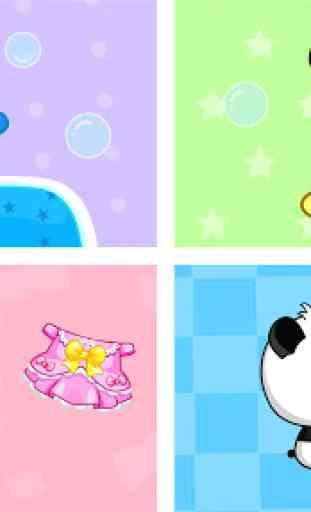 La journée de Bébé Panda 1