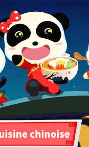 Panda & la Cuisine chinoise 1