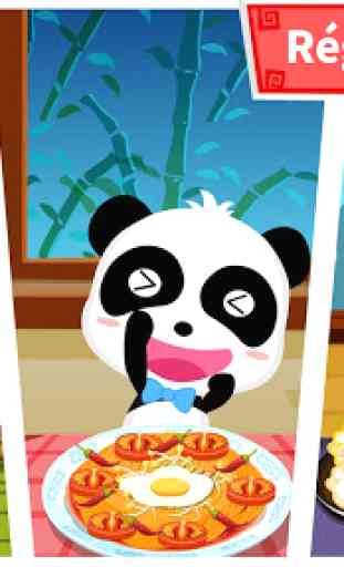 Panda & la Cuisine chinoise 4