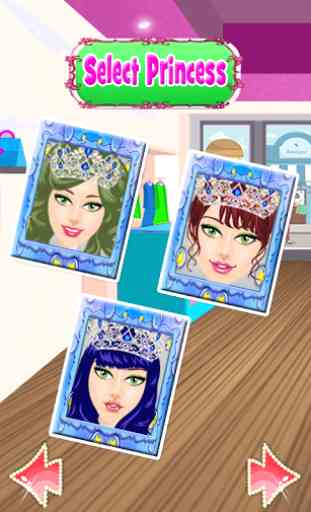 princesse mesure jeux de charm 2