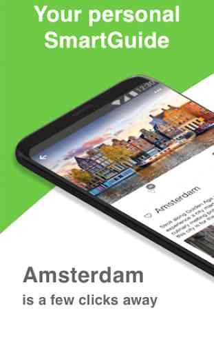 Amsterdam SmartGuide - Audio Guide & Offline Maps 1