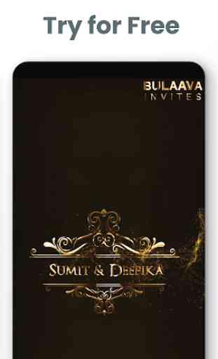 Wedding Invitation Videos - Bulaava 1