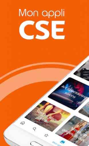 Mon appli CSE 1
