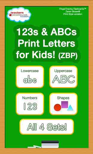 123s ABC écriture manuscrite 1