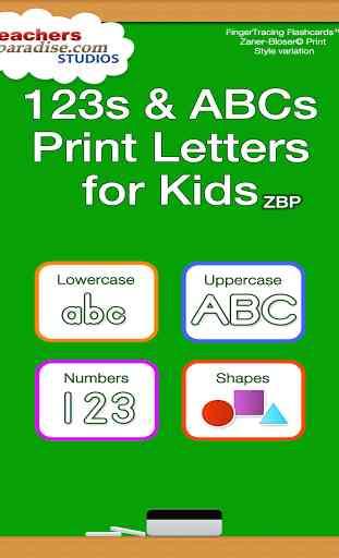 123s ABC écriture manuscrite 4