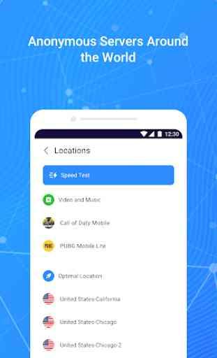 Fast VPN – Free VPN Proxy & Secure Wi-Fi Unblock 2