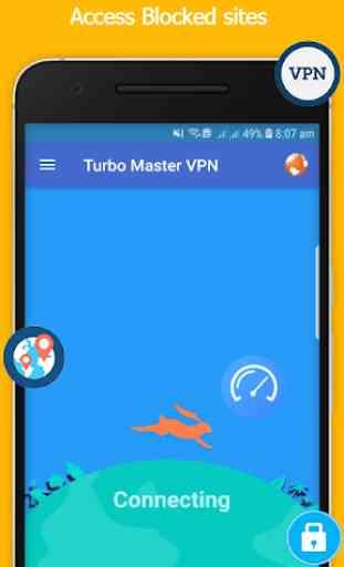 Turbo Master - Free VPN Proxy Server & Best & Fast 1