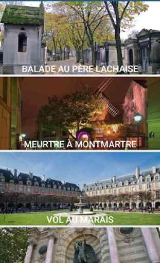 Paris Énigmes: balades, jeux de piste touristiques 1