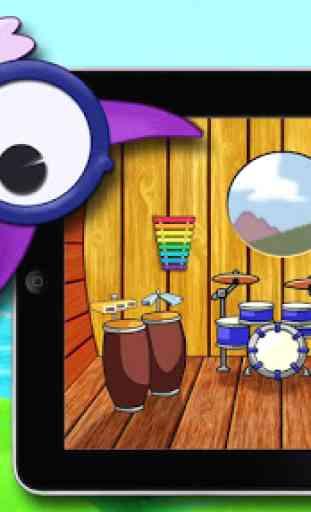 Instruments de musique:Enfants 1