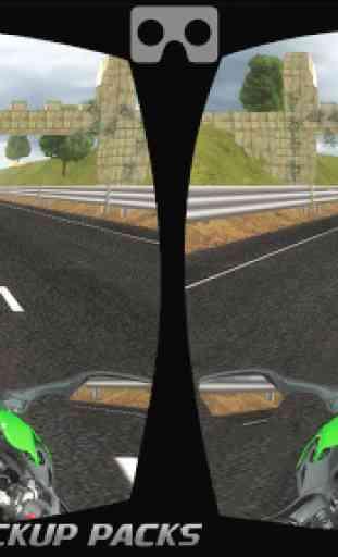VR Traffic Bike Racer 2