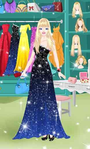 Princesse de salon habiller 1