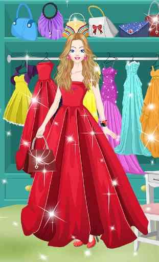 Princesse de salon habiller 2