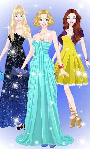 Princesse de salon habiller 3