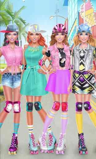 Roller Skate Chics: Girls Date 1