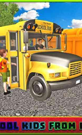 Bus scolaire simulator pilote 1