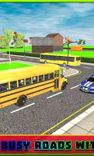 Bus scolaire simulator pilote 2