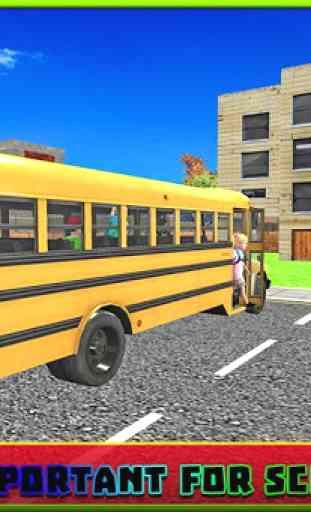 Bus scolaire simulator pilote 3