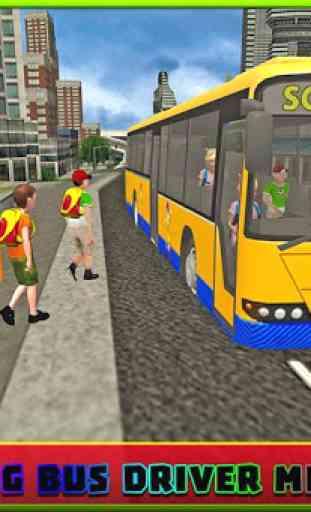 Bus scolaire simulator pilote 4