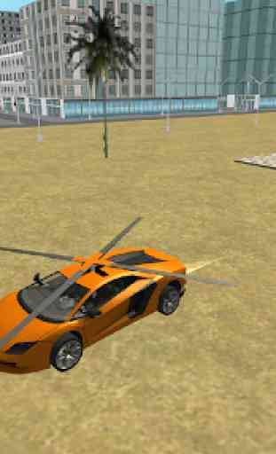 Flying  Helicopter Car 3D Free 4