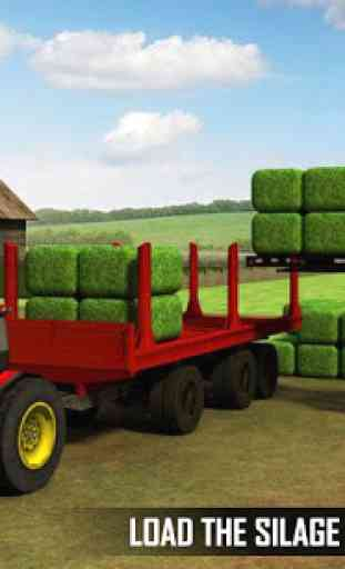 Silage Transporter Tractor 1