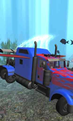 Submarine Transformer Truck 3D 1