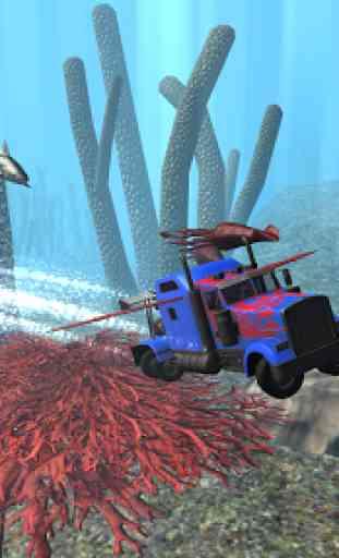 Submarine Transformer Truck 3D 2