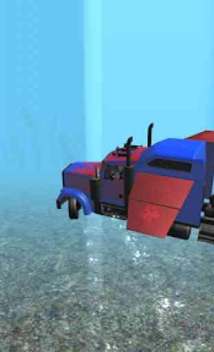 Submarine Transformer Truck 3D 3