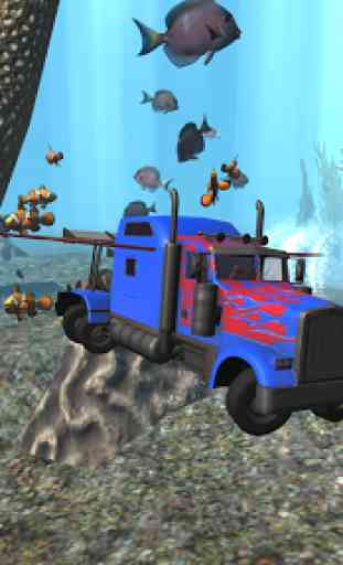Submarine Transformer Truck 3D 4
