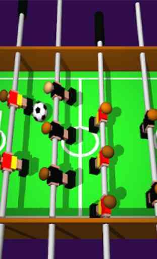 Table Football, Soccer 3D 2