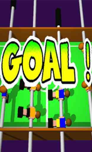 Table Football, Soccer 3D 3