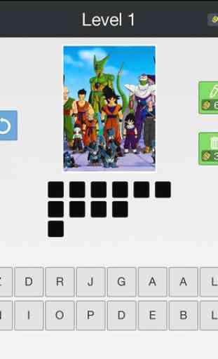 Anime Quiz - Trouvez quels sont les dessins animés avec 1 image 4