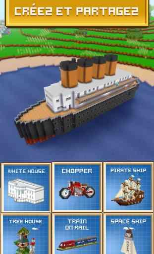 Block Craft 3D: Jeux Gratuit de Construction 4