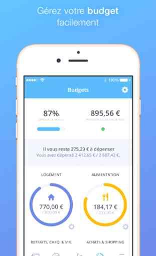 Bankin' - La Meilleure App pour gérer mon Argent 4