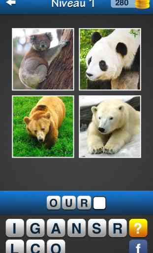 Trouvez le mot! ~ Quiz Photos gratuit avec des images et des mots 1