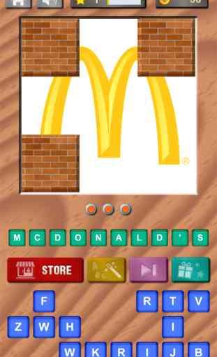 Devinez le Logo - Trouvez le Nom des Marques et des Logos Célèbres - Puzzle Quiz Gratuit ! 1