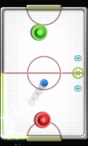 Glow Hockey 2 FREE 2